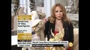 Mariah Carey 28 Glitzy Santa Figurine