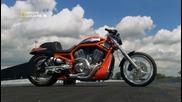 Мегазаводы. National Geographic Hd. Мотоцикл Харлей Дэвидсон (harley-davidson). 1080p.