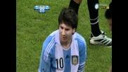 Argentina - Brazil / 4-3 Leo Messi Goal