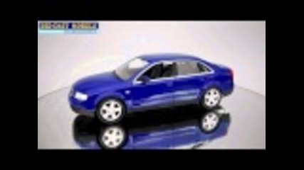Audi A4 2001 - Welly - 1:24