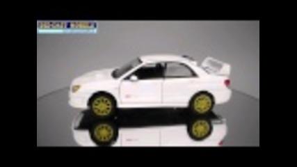 Subaru Wrx Sti - Motormax - 1:24