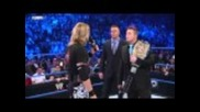 Wwe Champion The Miz and World Champion Edge Confrontion