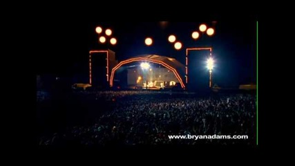Bryan Adams - The Only Thing That Looks Good On Me Is You - Live