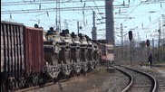 45 200 и 51 008 със специален влак заминават от Шумен