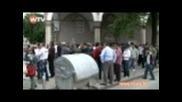 Сблъсък на Атака с мюсюлмани в София пред джамията