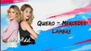 Violetta 3 Quiero Mercedes Lambre