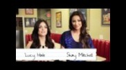 Pretty Little Liars Cast - Behind the Scenes Staples for Students Shoot