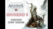 Assassin's Creed 3 - Sequence 5 - Boston's Most Wanted
