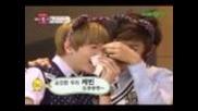 [ze:a Cut] Kwanghee kissing Jiwon & Kevin gets nosebleed