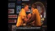 Final - John Brzenk vs. Denis Cyplenkov - Nemiroff 2008 - World of Armwrestling.com