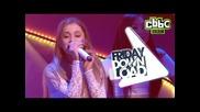 Ariana Grande 'problem' live on Cbbc's Friday