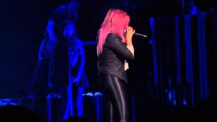 Demi Lovato - Two Pieces - The Neon Lights Tour Houston 02-19-2014