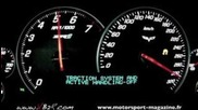 Corvette Zr1 acceleration top speed 0-330 km/h