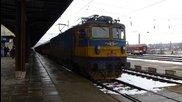 Бв 2612 с локомотив 46 235 пристига в Каспичан и потегля от Шумен