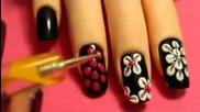 Цветя дизайни нокти