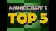 Top 5 Minecraft Creations - Castles