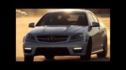 Figure Eight Drift 2012 Mercedes-benz C63 Amg Coupe