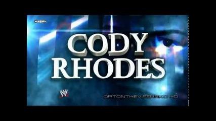 Cody Rhodes New Theme and Titantron