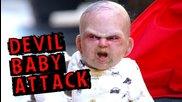 Devil Baby Attack( Бебето Дявол - Скрита камера .. Смях ..)