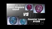 Cyber Pegasis 100hf Vs Counter Leone D125b