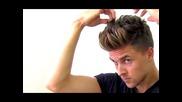 Justin Bieber and Zayn Malik inspired men's hairstyle | Hairbond Moulder