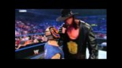 Smackdown 22.1.10 Rey Mysterio calls-out Undertaker!