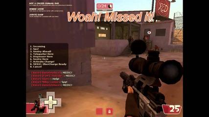 Tf2 newbie sniper set gameplay Forckyspoon Style