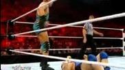 Сантино Марела vs Джак Фукльото - мач за американската титла * Wwe Raw 25.06.12 *