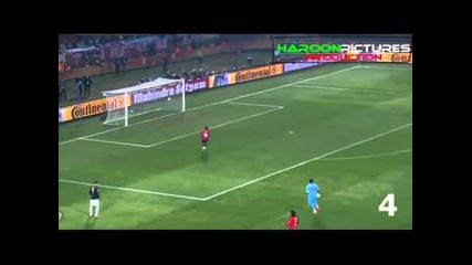 david villa top 10 goals 2011