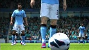 Fifa 13 Manchester City's Home Kit Trailer