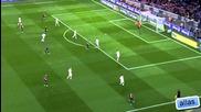 Барселона - Майорка 5:0 Гол на Сеск Фабрегас след 27 паса