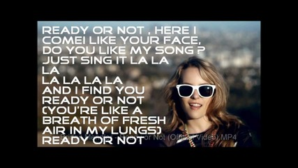 Bridgit Mendler - Ready or Not (lyrics on the screen)