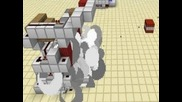 Minecraft Tnt Cannon cool for buildings or pirate ships