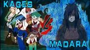 naruto shippuuden ep 323 ( Madara vs 5 Kages Amv )