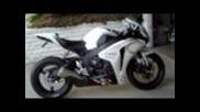 2009 Honda Cbr 1000rr Fireblade white & black