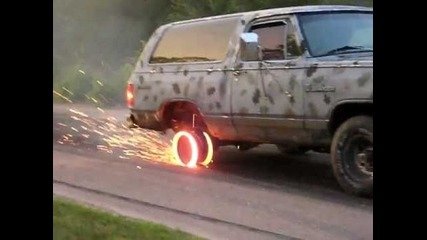 The Best Burnout Ever!!