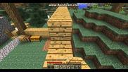 Minecraft оцеляване with Боби и Иво част 7 - довършването