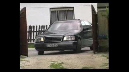 Mercedes 600sel Яко настъпване