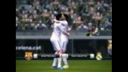 Pes 2011 Gameplay - Barcelona vs Real Madrid