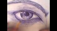 Реалистично око с химикал