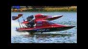 100 състезателни лодки