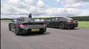 Ruf Ctr3 vs Maserati Granturismo Mc Sport Line