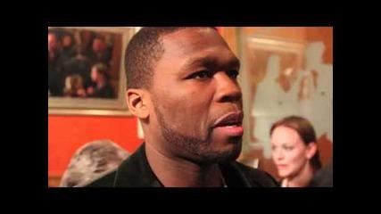 Showbiz411.com: 50 Cent at his Cheetah Vision dinner at Sundance 2011