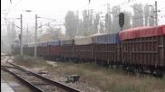 45 194 и 44 103 с товарен влак през Шумен