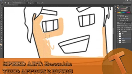 Speed art - Bossaide by:trottimusbg