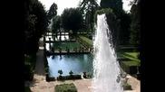 Giochi d'acqua a Villa d'este - Tivoli
