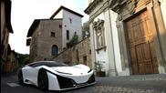 First official test drive - Lamborghini Madura (concept car 2016). L
