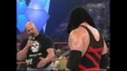 Wwe Kane Sends Austin to Hell