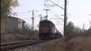 """87 004-8 """" Британия"""" с товарен влак за сръбската граница"""