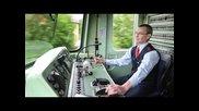 От кабината на локомотив в Германия